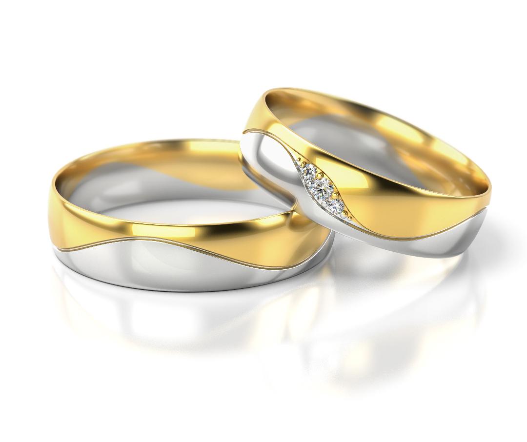 Precio del par anillo de boda oro blanco 333 oro for Precio rodiar anillo oro blanco
